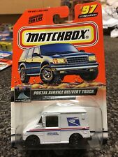 Matchbox 2000 #97 Postal Service Delivery Truck USPS MOC On the Road Again