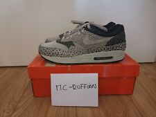 NIKE AIR MAX 1 GREY SAFARI 2009 DS NO OG BOX US12 UK11 EU46