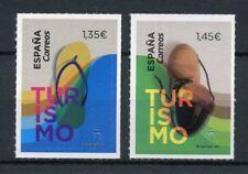 Spain 2018 MNH Tourism Slipper & Boot 2v S/A Set Stamps