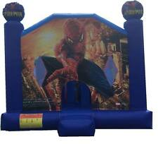 Jumping Castle Spiderman Slide Jumping Castles Event Childrens *MELB HIRE ONLY**