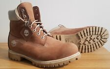 MENS WATERPROOF CLASSIC TIMBERLAND PREMIUM Mens Boots, UK Size 10 - LIGHT BROWN