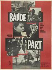 BAND OF OUTSIDERS Movie Promo POSTER French Jean Gabin Fernandel Marie Dubois