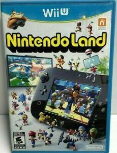 Nintendo Land (NINTENDO WiiU Wii U) GAME COMPLETE w/MANUAL NINTENDOLAND FUN GAME