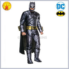 Batman Armoured Deluxe Mens Costume Halloween Party Fancy Dress Extra Large