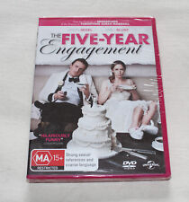 The Five Year Engagement (DVD, 2012) New Sealed