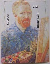 Stadspost Dordrecht 1990 - Blok Vincent van Gogh postfris