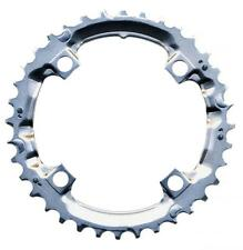 Shimano 36T Mega 9 Speed Chainring Deore FC-M510 M440 Silver Y1DS98200 104mm BCD
