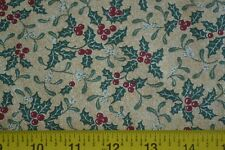 Green on Rusts Quilting Cotton Thimbleberries//Sunshine Shadow By 1//2 Yd N1389