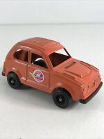 """Vintage 1975 TootsieToy Orange Honda Civic 70s rare 3"""" coupe 2 door collectible"""