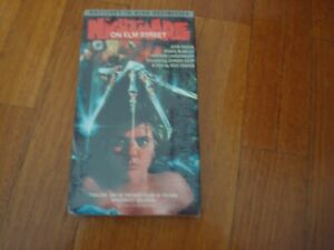 A NIGHTMARE ON ELM STREET PART 1 VHS TAPE ( HIGH DEFINTION )- NTSC - NEW /SEALED
