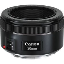 50mm Fixed/Prime Lenses for Canon SLR Cameras