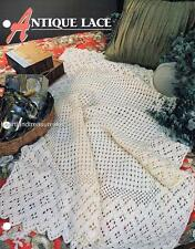 Antique Lace   Annie's Attic  Crochet Afghan Pattern Instructions