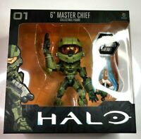 """JINX Halo 6"""" Master Chief Collectible Figure Battle Free Shipping"""