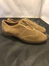 KEDS Tan Suede Zip Walking Loafer Shoes Women's Size 6 US - WH39821M Brown
