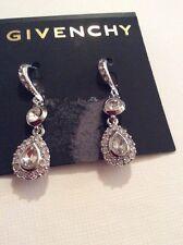 $45 Givency Crystal Oribtal Earrings  Clear  365 C