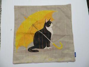 Jes & Medis Umbrella Cat Pillow Covers