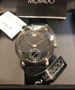 Movado Museum Sport Motion Smart Watch Bluetooth Black