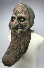 Vintage ILLUSIVE CONCEPTS Monster Full Halloween Mask Creepy Ugly RARE