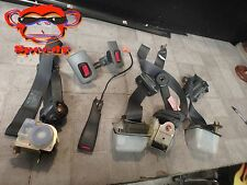 92 93 94 95 96 97 98 99 00 LEXUS SC400 300 ALL SEAT LAP BELT SEATBELT SET GRAY