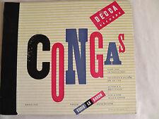 "Eddie Le Baron ""Congas"" Decca Album Set #A-590"