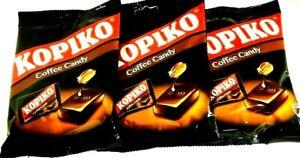 Kopiko Coffee Candy 4.23 oz ( Pack of 3 ) ~ US SELLER