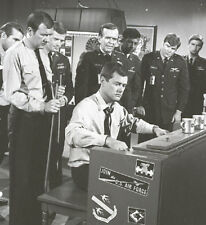 LARRY HAGMAN PIANO BILL DAILY I DREAM OF JEANNIE RARE 1967 NBC TV PHOTO NEGATIVE