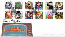 2014 Classico Bambini TV-RM-SET COMPLETO FIRMATO DA TOM Baker!