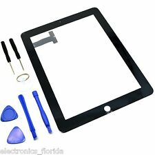 Black Screen Glass Digitizer replacement for iPad 1st A1219 A1337 with tools