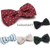 Classic  Novelty Tuxedo Bowtie Men's Wedding Party Adjustable Bow Tie Necktie