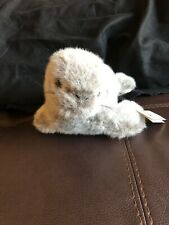 """NWT Vintage Lucky Plush Toys """"18 Seal Grey"""