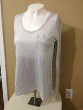 COVET Women's Stone Gray Colorful Plaid Button Back L/S Shirt - Size XS - NWT
