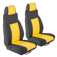 Jeep Wrangler 2003 - 2006 TJ Neoprene Front Custom Seat Cover Yellow FS20frt
