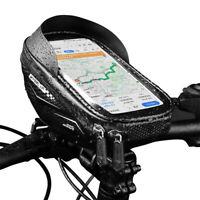 Waterproof Bicycle Cycling Bike Front Top Tube Frame Bag MTB Phone Holder Case