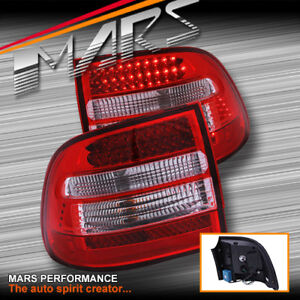 Clear Red LED Tail Lights for PORSCHE CAYENNE 955 9PA 03-06 Turbo S GTS