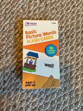 Trend Basic Picture Word Flash Cards - Basic Picture Word Flash Cards