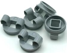 Lego 5 New Light Bluish Gray Technic Turntable Small Bottom Piece