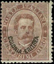 Eritrea Scott #4 Mint No Gum