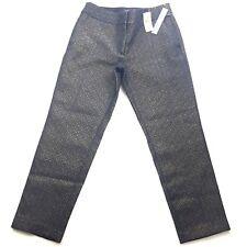 Ann Taylor LOFT Petites Womens Marisa Pencil Ankle Pants Size 2P Gold Blue NEW