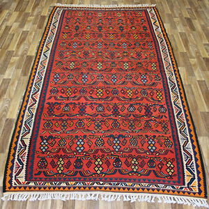 PERSIAN TRADITIONAL ANTIQUE Wool  300  X 155 CM - 10 X 5.2 FT HANDMADE KILIM RUG