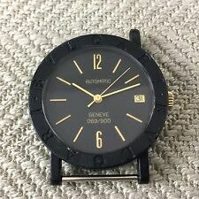 Genuine BVLGARI Carbon Gold Geneve Limited Edition Automatic Watch Movement