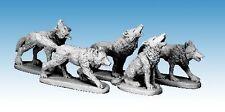 Osprey Juegos/Northstar miniaturas frostgrave frostgrave Lobos Nuevo Y En Caja