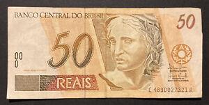 50 reais Brésil 2006 Bon État- Brazil billet - Banknote