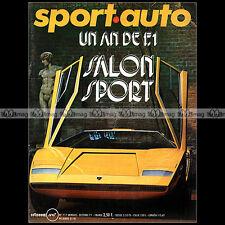 SPORT AUTO N°117 FRANCOIS CEVERT PORSCHE 917 R17 STEVE McQEEN FIAT 127 130 1971