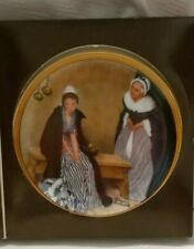 Edwin M Knowles Norman Rockwell Word's of Comfort Plate