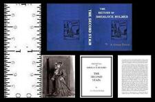 1:12 MINIATURE BOOK SHERLOCK HOLMES SECOND STAIN ILLUSTRATED