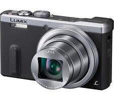 Panasonic DMC-TZ60EB-S Superzoom 18.1MP Compact Digital Camera Silver New