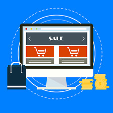 CUSTOM ECOMMERCE WEBSITE  ONLINE SHOP  YOUR OWN ONLINE STORE + Extras