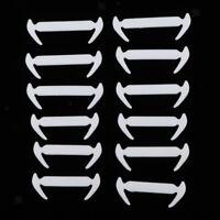12pcs Lacets Élastiques En Silicone Sans Laçage
