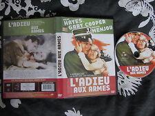 L'adieu aux armes de Frank Borzage avec Gary Cooper, DVD VOSTF, Guerre, RARE!!!