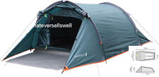 COMPACT LIGHTWEIGHT 2 PERSON TUNNEL BLACKTHORN TENT